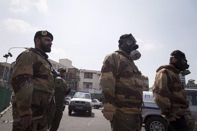 Fuerzas de seguridad iraníes