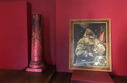 La DPZ restaura un lienzo de San Bruno del siglo XVIII, obra del pintor aragonés Fray Manuel Bayeu