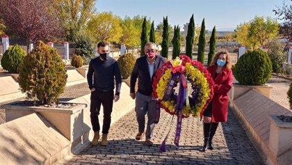 Homenaje en La Barranca a las víctimas del Franquismo con motivo del 1 de noviembre