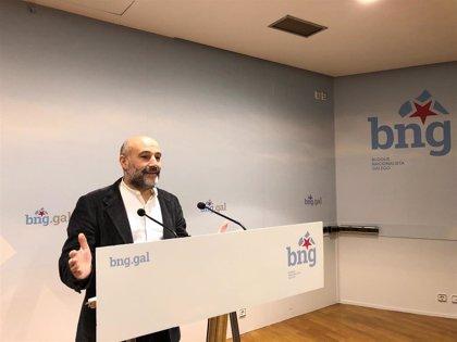 El BNG reclamará que la inversión para Galicia en los Presupuestos de 2021 supere los 1.000 millones