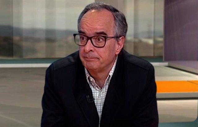 El cap de la Unitat de malalties infeccioses de l'Hospital Sant Pau de Barcelona, Joaquín López-Contreras, en una entrevista del 3/24.