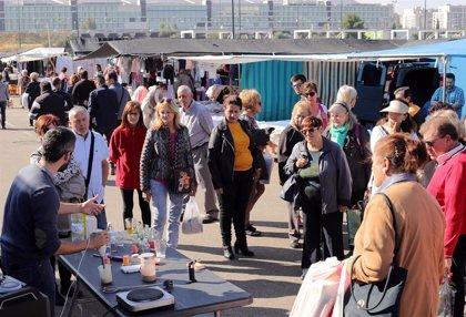 El mercado ambulante de La Almozara montará sus puestos este domingo al 25% de su capacidad