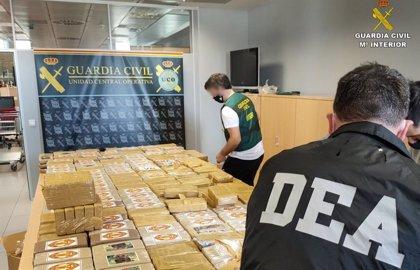 Los 'Pasteleros' mantenían vínculos con una organización de excombatientes balcánicos para distribuir cocaína en Europa