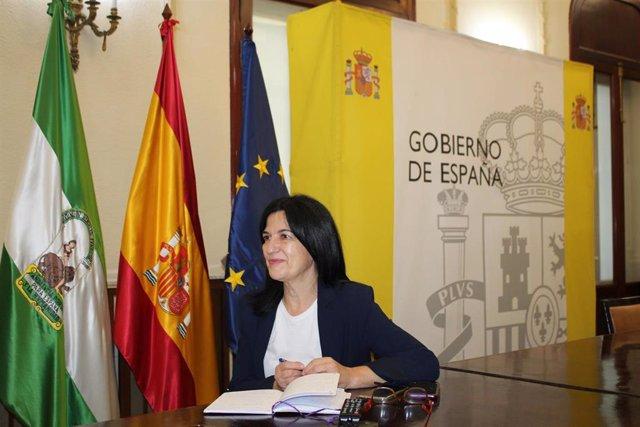 La subdelegada del Gobierno en Granada, Inmaculada López, ha presidido este sábado la reunión del Comité de Coordinación de Seguridad (Cecor),