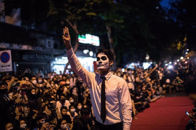Protestes prodemocràtiques a Bangkok, Tailàndia
