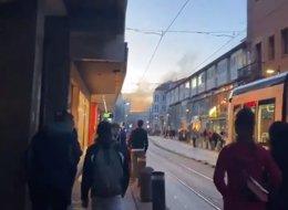 Disturbios en Vitoria