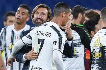 """Pirlo confirma la vuelta de Cristiano Ronaldo: """"Estará con el equipo, pero no creo que sea titular"""""""