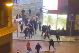 Disturbios en Madrid contra las restricciones