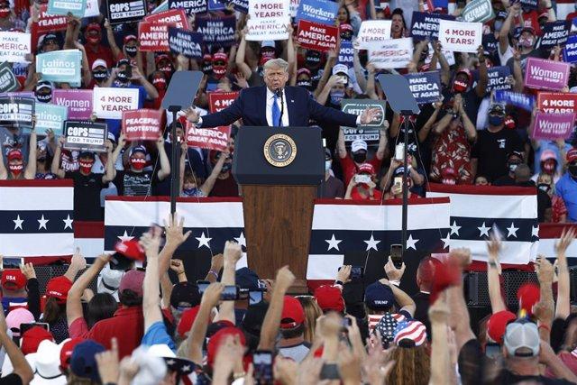 Acto de campaña de Donald Trump en Carson City, Nevada
