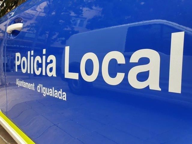 Cotxe de la Policia Local d'Igualada.