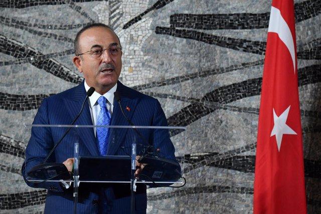 El ministro de Exteriores de Turquía, Mevlut Cavusoglu