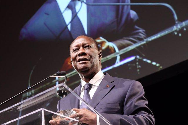 El president de la Costa d'Ivori, Alassane Ouattara
