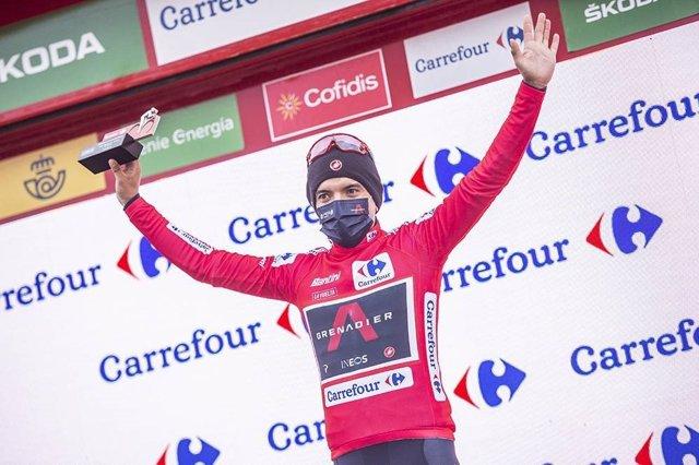 El ciclista equatorià Richard Carapaz