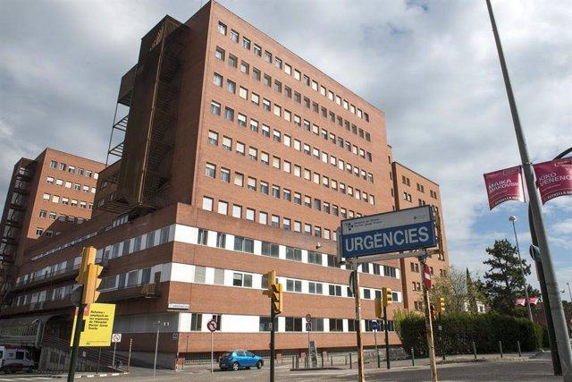Façana i entrada d'Urgències de l'Hospital Universitari de Girona Doctor Josep Trueta, on està situat l'ICO Girona.