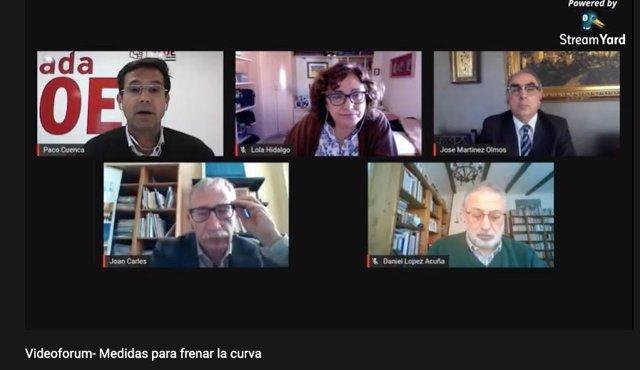 Foro de Salud del PSOE con expertos para abordar el Covid