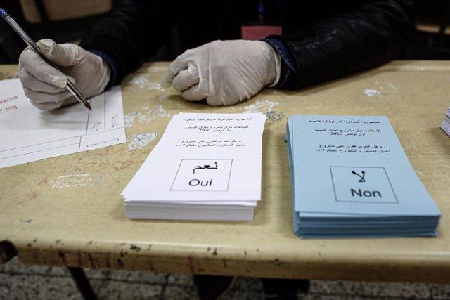 Referéndum constitucional en Argelia