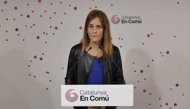 La líder dels comuns al Parlament, Jéssica Albiach