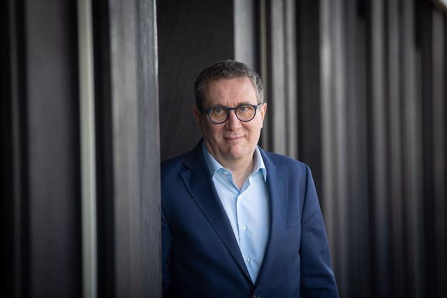 El escritor Luisgé Martín, ganador del Premio Herralde de Novela