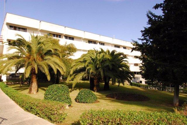 Residencia de mayores Bonanova, gestionada por el IMAS.