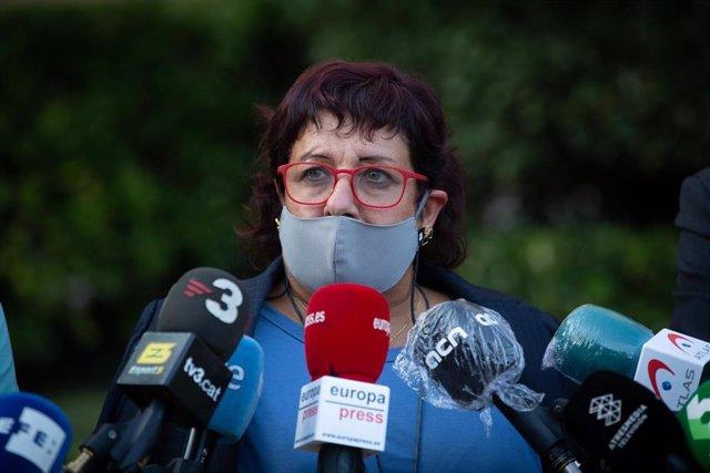 La exconsellera de Trabajo, Asuntos Sociales y Familia de la Generalitat Dolors Bassa, en Barcelona, Catalunya (España), a 29 de septiembre de 2020.