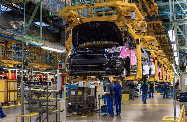 Planta de fabricación de vehículos