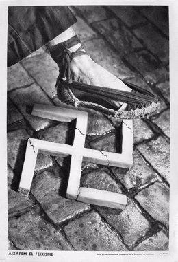 La famosa imatge del fotògraf publicitari Pere Català Pic (vertical)