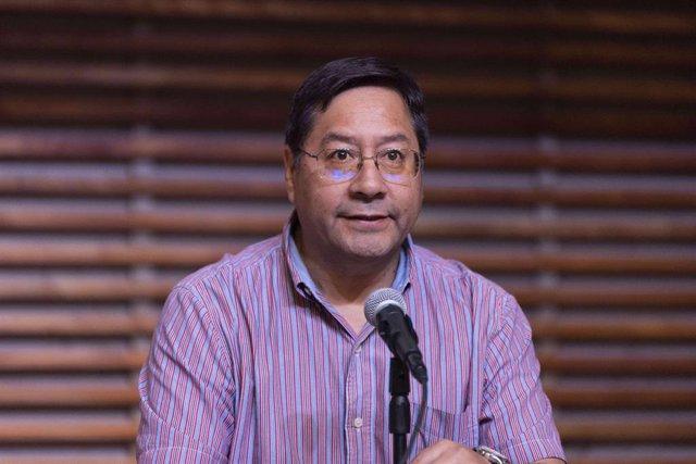 El presidente electo de Bolivia, Luis Arce.