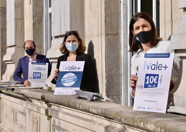 Presentación de la campaña 'Santander Vale Más'