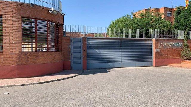Entrada de la presó de Lleida