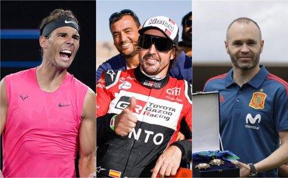 Rafa Nadal, Fernando Alonso y Andrés Iniesta lideran el ranking Forbes de deportistas más ricos por autonomías