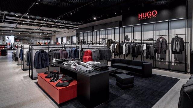 Tienda de Hugo Boss en Metzingen (Alemania).