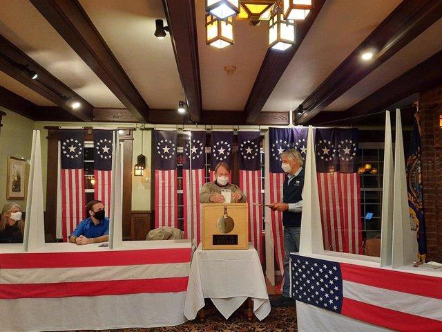 Jornada electoral a Dixville Notch, New Hampshire