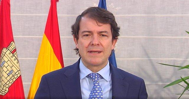 El president de la Junta de Castella i Lleó, Alfonso Fernández Mañueco.