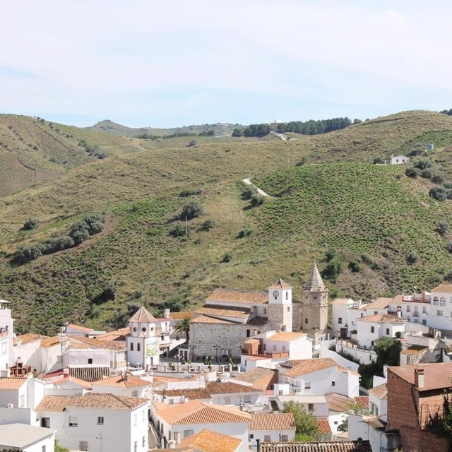 Vistas del municipio de El Borge