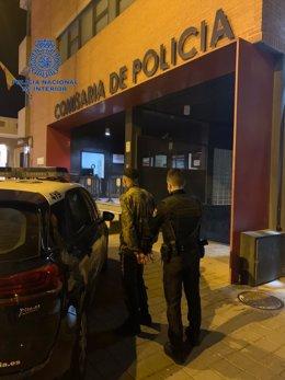 La Policía Nacional detiene al presunto autor del robo de un patinete eléctrico del interior de un domicilio