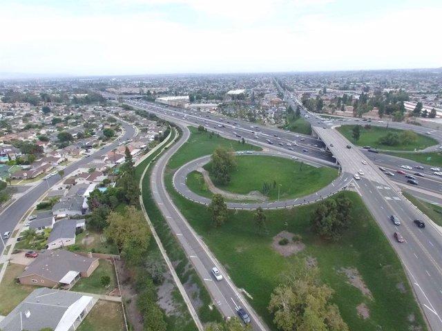 Una de las carreteras en la que trabaja OHL en Estados Unidos