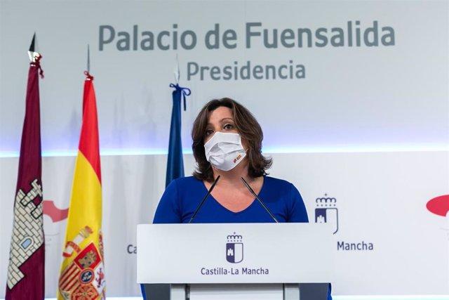 La consejera de Economía, Empresas y Empleo, Patricia Franco