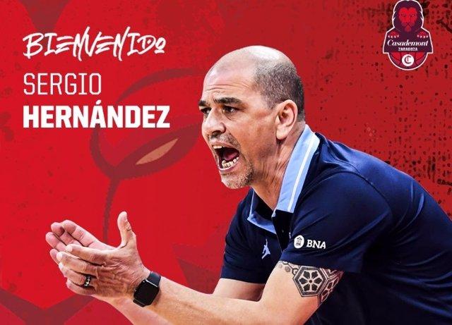Sergio Hernández se hace cargo del Casademont Zaragoza