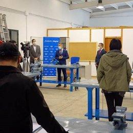 Presentación del curso de formación en fibra óptica promovido por el Ayuntamiento de Granada con las fundaciones Endesa y Magtel