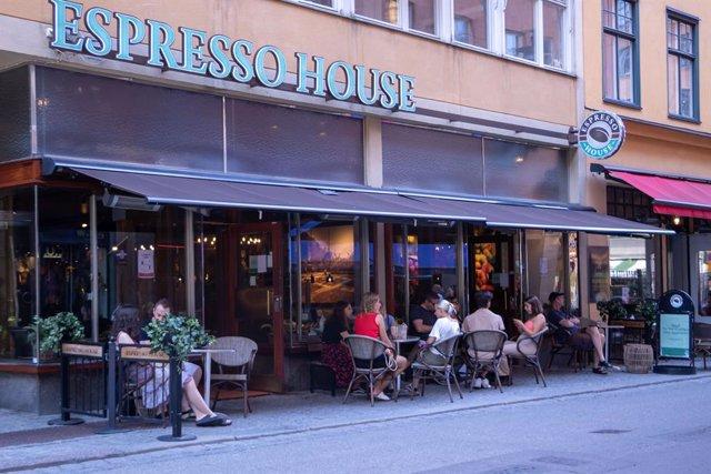 Cafetería en el centro de Estocolmo