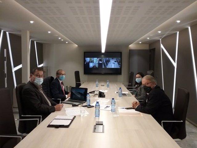 Imatge del consell d'administració de Mercolleida, celebrat el 3 de novembre del 2020. (Horitzontal)