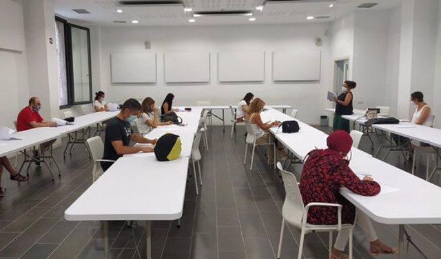Un aula (Arxiu).