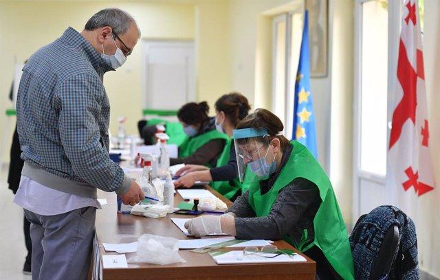Elecciones parlamentarias en Georgia