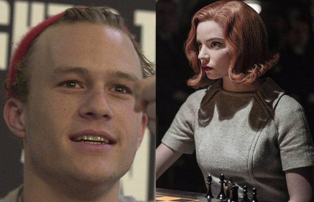 Heath Ledger Quería Dirigir La Película De Gambito De Dama
