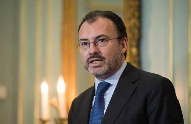 El exministro mexicano de Exteriores Luis Videgaray.