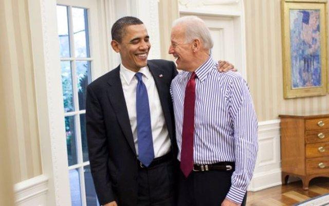 El expresidente Barack Obama junto a Joe Biden, candidato demócrata a la Presidencia.