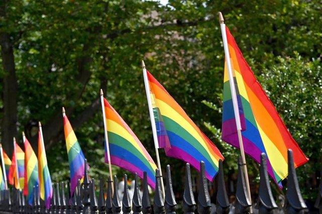 Imagen de archivo de la bandera LGTBI.