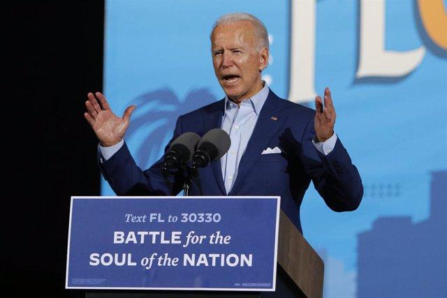 El candidato demócrata, Joe Biden.