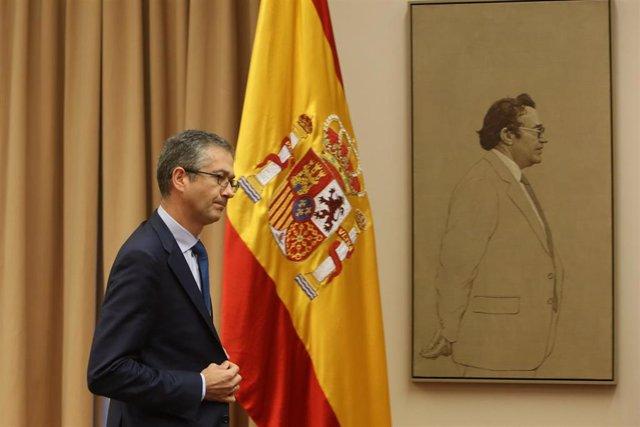El Gobernador del Banco de España, Pablo Hernández de Cos, comparece en Comisión de en el Congreso
