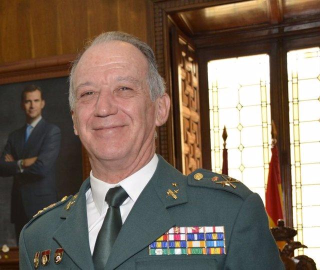 El general de división de la Guardia Civil Francisco Esteban